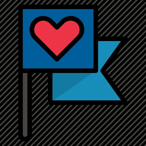 location, love icon
