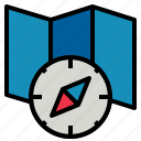compass, map icon
