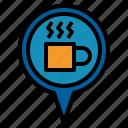 coffee, pin