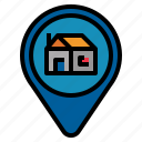 home, location icon