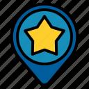 favorite, location, pin