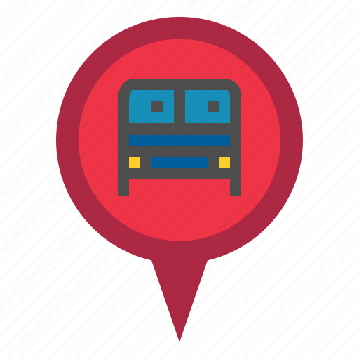 Marker, pin, bus station icon - Download on Iconfinder