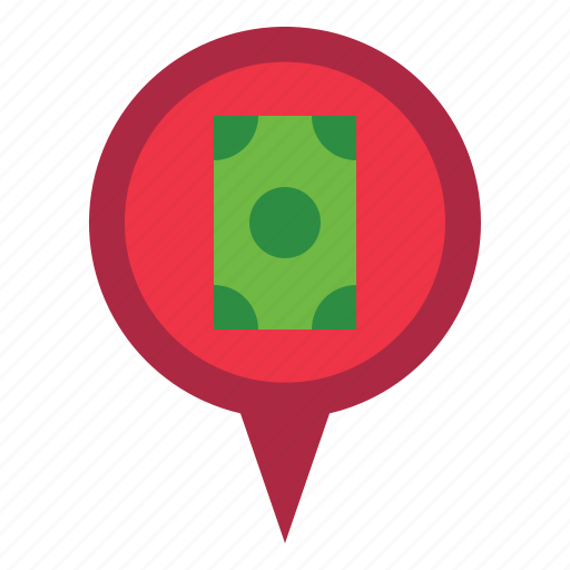 Marker, pin, money icon - Download on Iconfinder