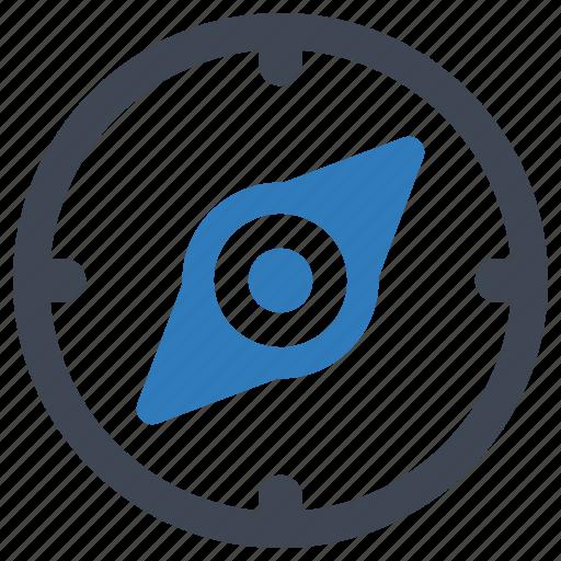compass, navigate, navigation icon