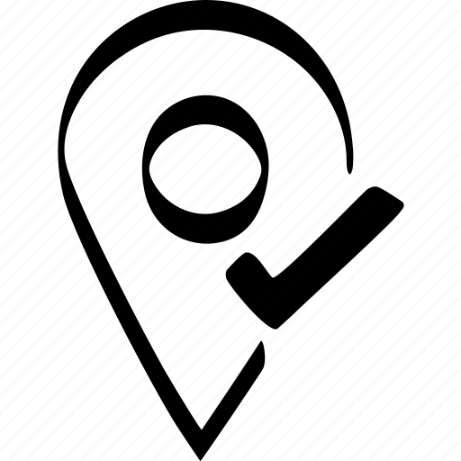 app, essential, location, pin icon