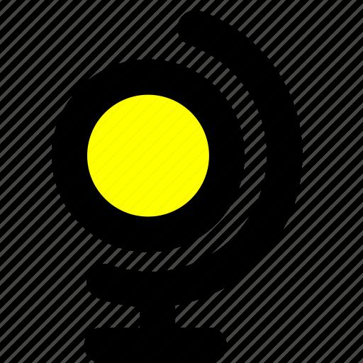globe, navigation icon