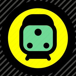 train, train station, transport, transportation, travel icon