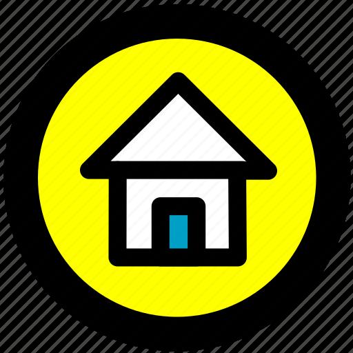 home, home location icon
