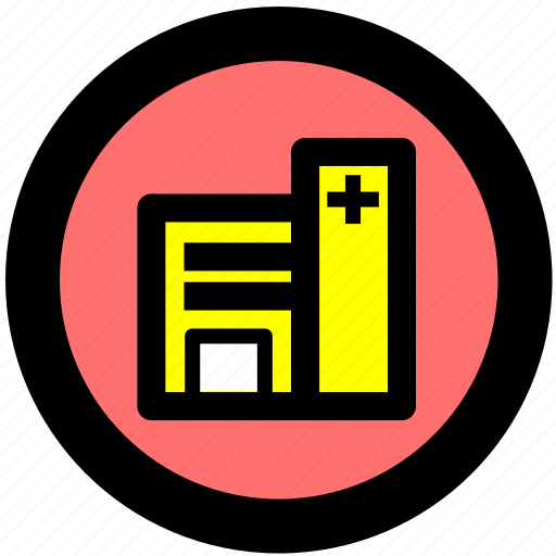 clinic, health, hospital, medical, medicine icon