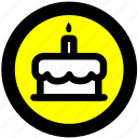 cake shop, cake shop location icon