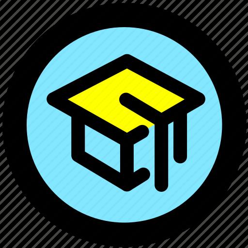 education, knowledge, learning, school, school location, university icon