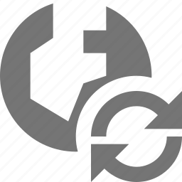 arrows, globe, location, refresh, reload, sync icon