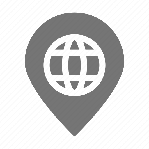 location, network, pin icon