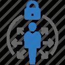 avoid, lock, lockdown, not going, travel, world icon