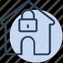 avoid, house, lock, lockdown, secure icon