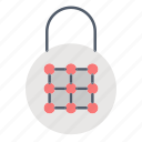 lock, padlock, password, secure icon