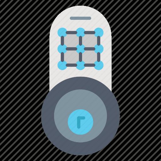 door, lock, pass, protection, security, ticket icon