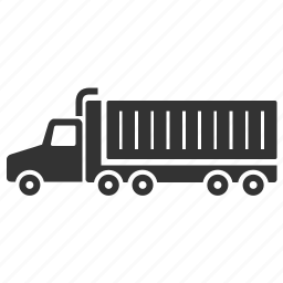 freight, logistic, lorry, service, trailer, transport, truck icon