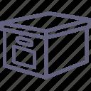 box, cargo icon