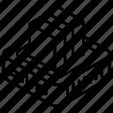 package, parcel, cardboard, carton, cargo icon