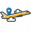 gps, location, logistic, navigation, plane, shipping, transport