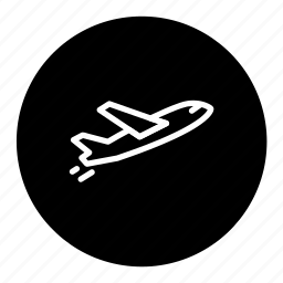 airplane, delivery, logistic, shipping, transport icon