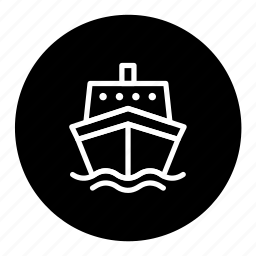 delivery, logistic, ship, shipping, transport icon