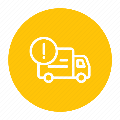 delivery, information, logistic, shipping, transport icon