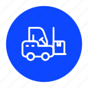 delivery, forklift, logistic, shipping, transport