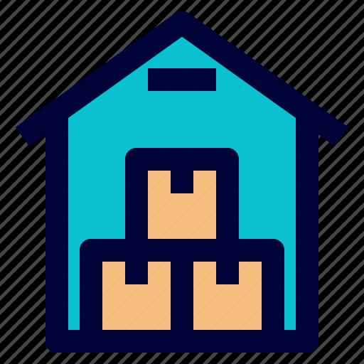 logistic, save, storage, warehouse icon