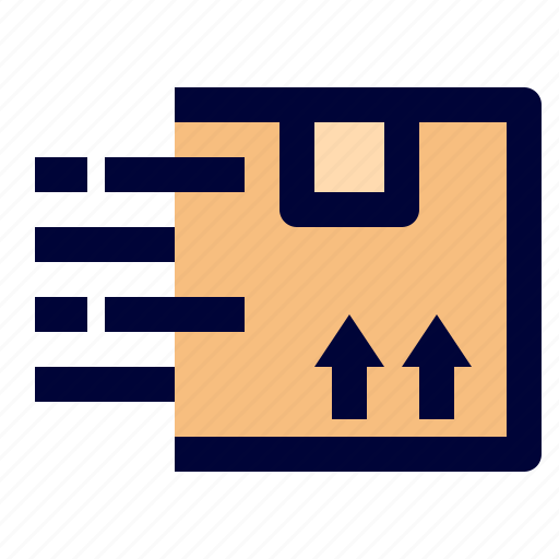 box, delivery, exspress, logistic, package icon