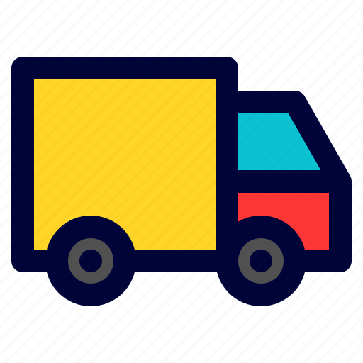 car, delivery, logistic, transportation, truck icon