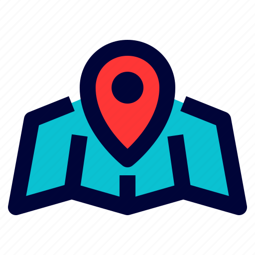 gps, location, logistic, map, marker icon
