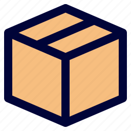 box, cardboard, delivery, logistic, package icon