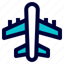 air plane, flight, logistic, plane, shipping icon
