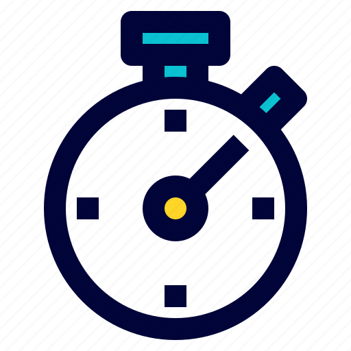 logistic, stopwatch, time, timer icon