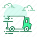 box, car, delivery, shipping, transport icon