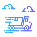 car, delivery, shipping, transport icon