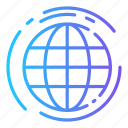 delivery, earth, globe, shipping, world icon