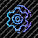 development, fix, gear, setting, setup icon