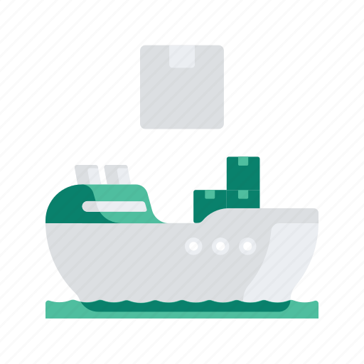 delivery, logistic, package, ship, transport, transportation icon