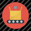 belt, box, carton, conveyor, parcel