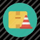 box, carton, cone, delivery, parcel