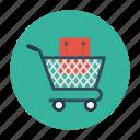 bag, buying, cart, shopping, trolley