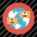chat, global, online, user, world
