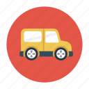 jeep, transport, travel, truck, vehicle icon