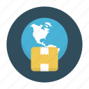box, carton, delivery, online, parcel