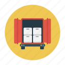 box, delivery, parcels, shipping, truck