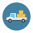 delivery, fast, parcel, shipping, truck