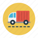 delivery, fast, transport, truck, vehicle icon